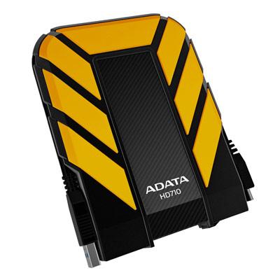 ★ADATA威剛 HD710 1TB USB3.0 悍將防震行動硬碟-勇士黃