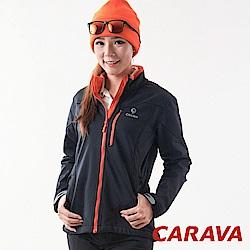 CARAVA 《女款防水保暖外套》(黑)