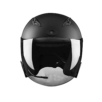 JARVISH Flash F2 智慧安全帽 機車行車紀錄器 - 黑