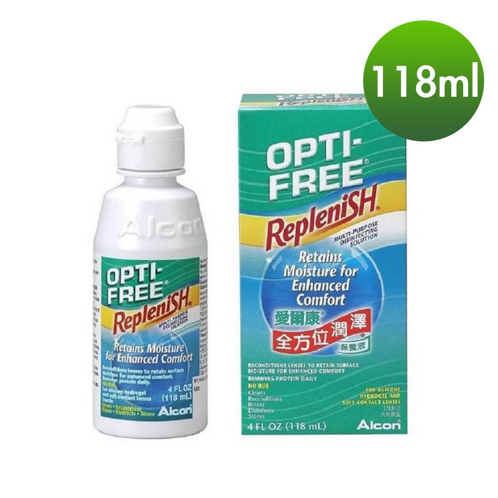 [限時滿$599贈小瓶]愛爾康 全方位潤澤保養液 Alcon RepleniSH 118ml