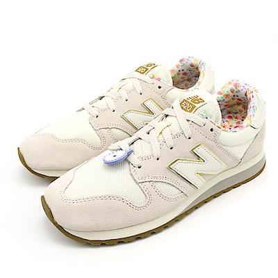 NEW BALANCE-女復古休閒鞋WL520CC-B-白