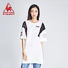 le coq sportif 法國公雞牌COQ系列潮流長版連身裙 女-白