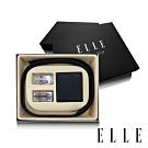 ELLE HOMME 男爵系列-真皮皮夾+雙皮帶頭禮盒-三件組A9002