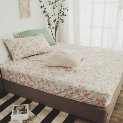 絲薇諾 MIT精梳純棉 安娜西 雙人5尺三件式-床包枕套組