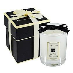 Jo Malone 旅行香氛工藝蠟燭 青檸、羅勒與柑橘 60g 含外盒、緞帶