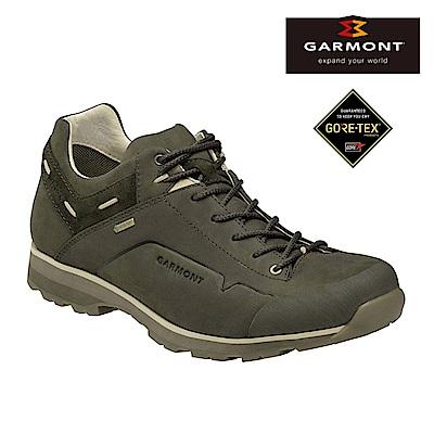 GARMONT Gore-tex低筒休閒旅遊鞋Miguasha 橄欖綠