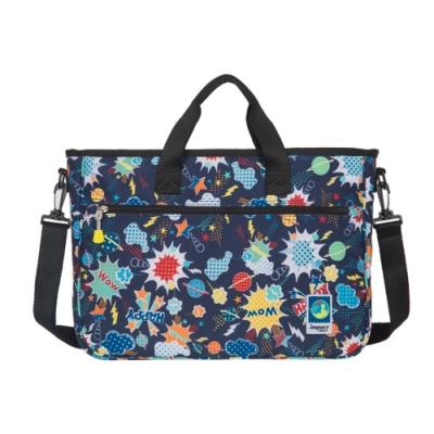 【IMPACT】樂學系列-背提兩用袋-才藝袋-藍 IM00S01NY