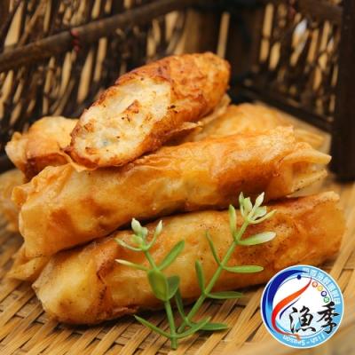 【漁季水產】新府城蝦捲3盒組(300g±10%/10入/盒)