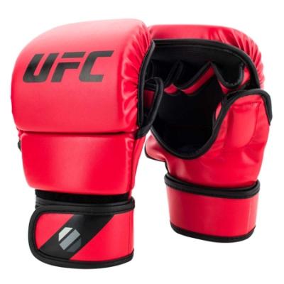 UFC-MMA 格鬥/散打/搏擊訓練拳套-8oz-紅