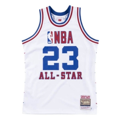 M&N Authentic球員版復古球衣 All-Star Game 1985 #23 Michael Jordan