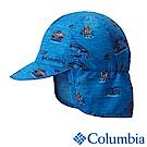Columbia 哥倫比亞 兒童-防曬30遮陽帽-藍色花紋 UCY00570