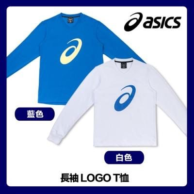 【時時樂】ASICS 亞瑟士 長袖LOGO T 大學T 衛衣