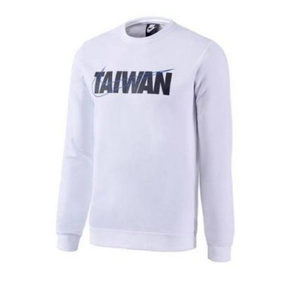 NIKE M NSW TAIWAN LS CREW FLEECE 男 長袖上衣-白-CU1604100