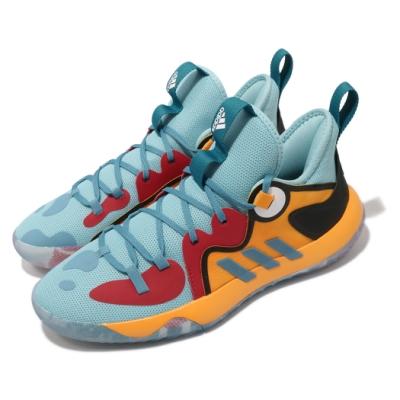 adidas 籃球鞋 Harden Stepback 2 男鞋 愛迪達 明星款 避震 包覆 球鞋 藍 黃 H01472