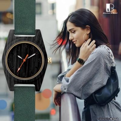 都會高雅質感木頭手錶31mm-2款任選