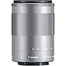 CANON EF-M 55-200mm F4.5-6.3 IS STM 拆鏡銀色(公司貨)