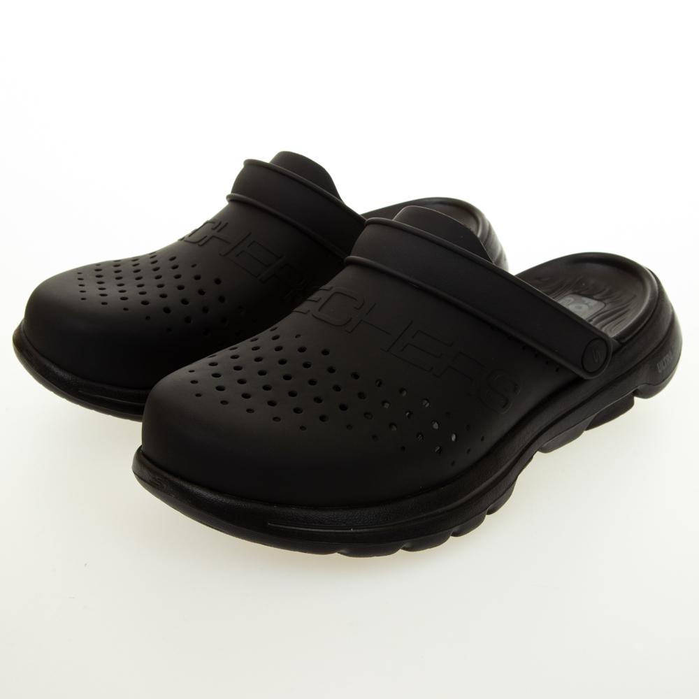 SKECHERS 男健走系列 涼拖鞋 FOAMIES GO WALK 5 水鞋 - 243010BBK
