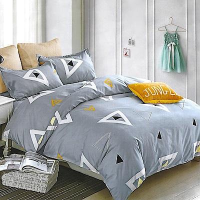 LAMINA 羅曼蒂克 雙人四件式 柔絲絨兩用被床包組