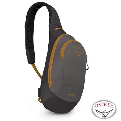 OSPREY 新款 Daylite Sling 6L 輕量多功能休閒單肩背包_毒蛇黑 R