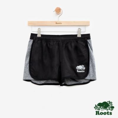 女裝Roots- 雙面穿休閒短褲-灰色