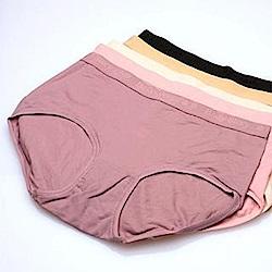 內褲 薄軟無感天絲棉中腰褲(五件入) 褲褲嫂專業內褲
