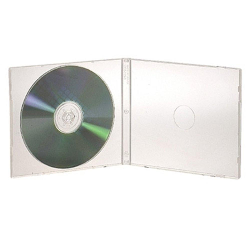 DigiStone 1片裝標準型軟殼收納盒白色透明 25片