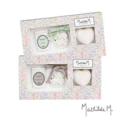 Mathilde M. 法國瑪恩 限量款香皂香石香燭禮盒