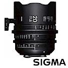 日本 SIGMA 20 mm T1.5 FF 全片幅高速定焦電影鏡頭 PL mount