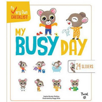 My Very Own Checklist:My Busy Day 忙碌的一天硬頁書