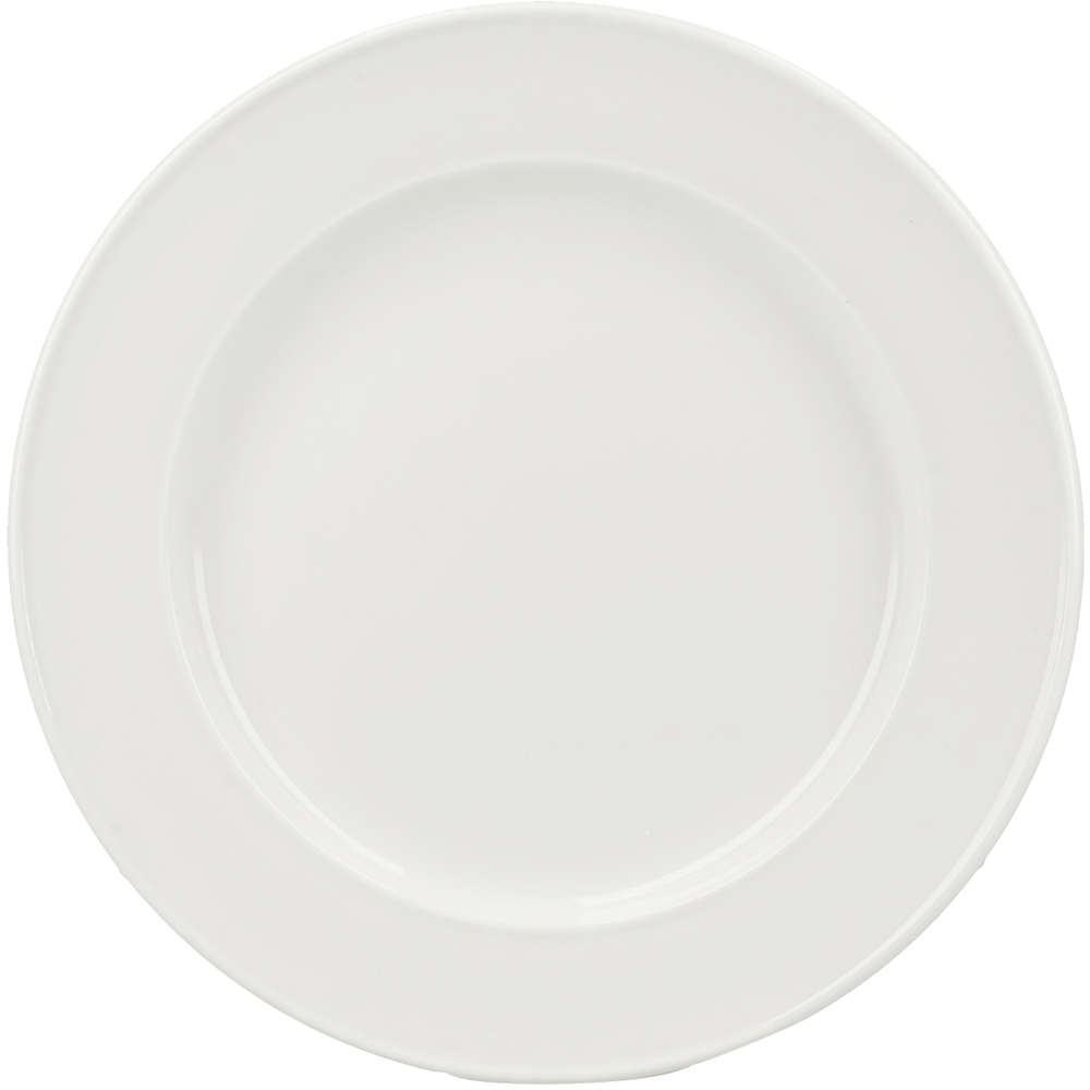 CreativeTops Misaka素雅淺餐盤(米白20cm)
