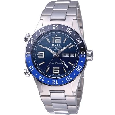 BALL WATCH Roadmaster Marine GMT 瑞士天文台機械錶(DG3030B-S1CJ-BE)藍-40mm