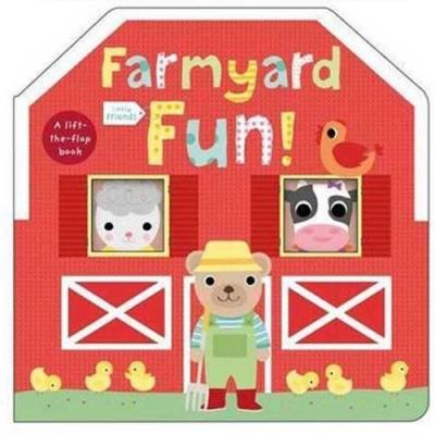 Little Friends:Farmyard Fun 農場樂園硬頁翻翻操作書(英國版)