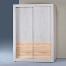 Bernice-冰島雙色白天鵝漂流木5×7尺推門衣櫥-150x58.8x202.5cm