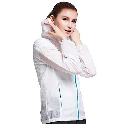【KISSDIAMOND】清涼透氣防曬防潑水撞色抗UV外套