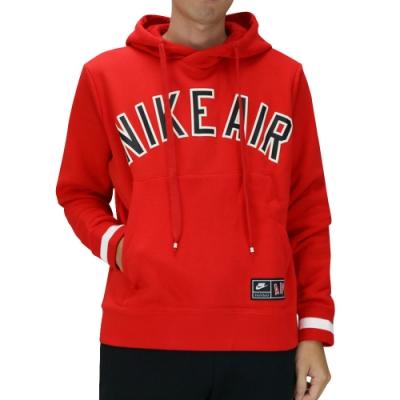 Nike AS M NSW NIKE AIR HOODIE PO FL 男連帽T 紅-AR1818657