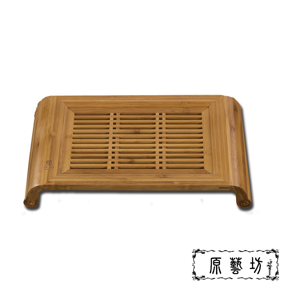 原藝坊 天然竹福小孔明茶盤40 x22 cm