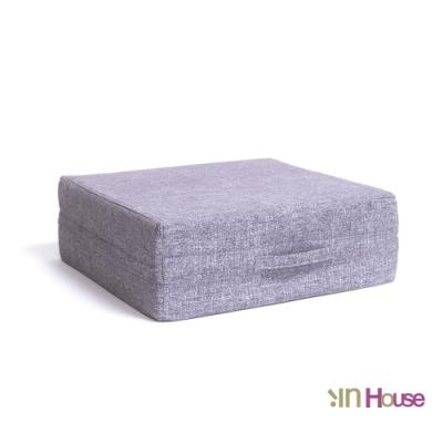 IN HOUSE-日式無壓力坐墊(方形/灰色)