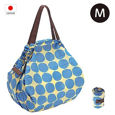 【日本Marna】Shupatto 秒收摺疊環保袋 (M) 波點