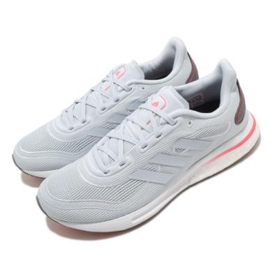 adidas 慢跑鞋 Supernova 運動 女鞋 愛迪達 路跑 緩震 Boost底 藍 粉 FV6019