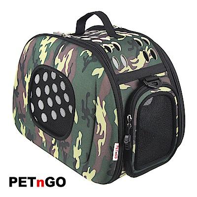PETnGO 透氣網窗寵物提包-迷彩