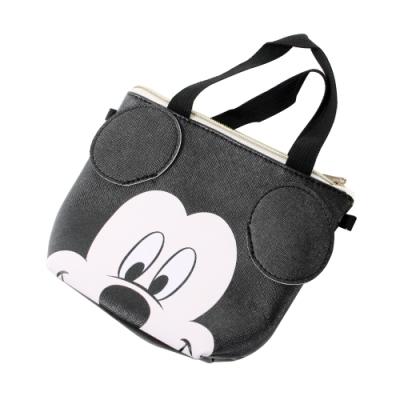 迪士尼米奇側背-手提兩用小包 f0341 魔法Baby