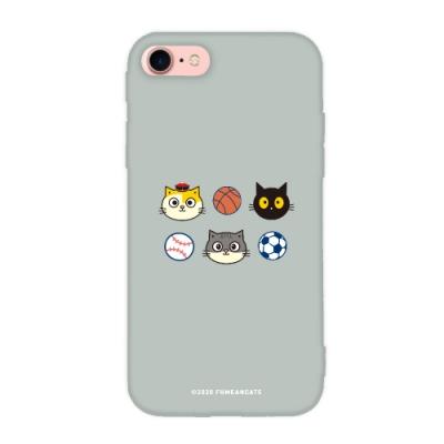 【TOYSELECT】iPhone SE2/7/8 黃阿瑪簡約設計iPhone手機殼