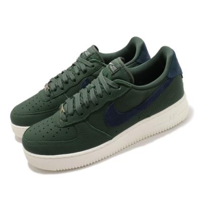 Nike 休閒鞋 Air Force 1 07 Craft 運動 男鞋 皮革 簡約 舒適 球鞋 穿搭 綠 藍 CV1755300