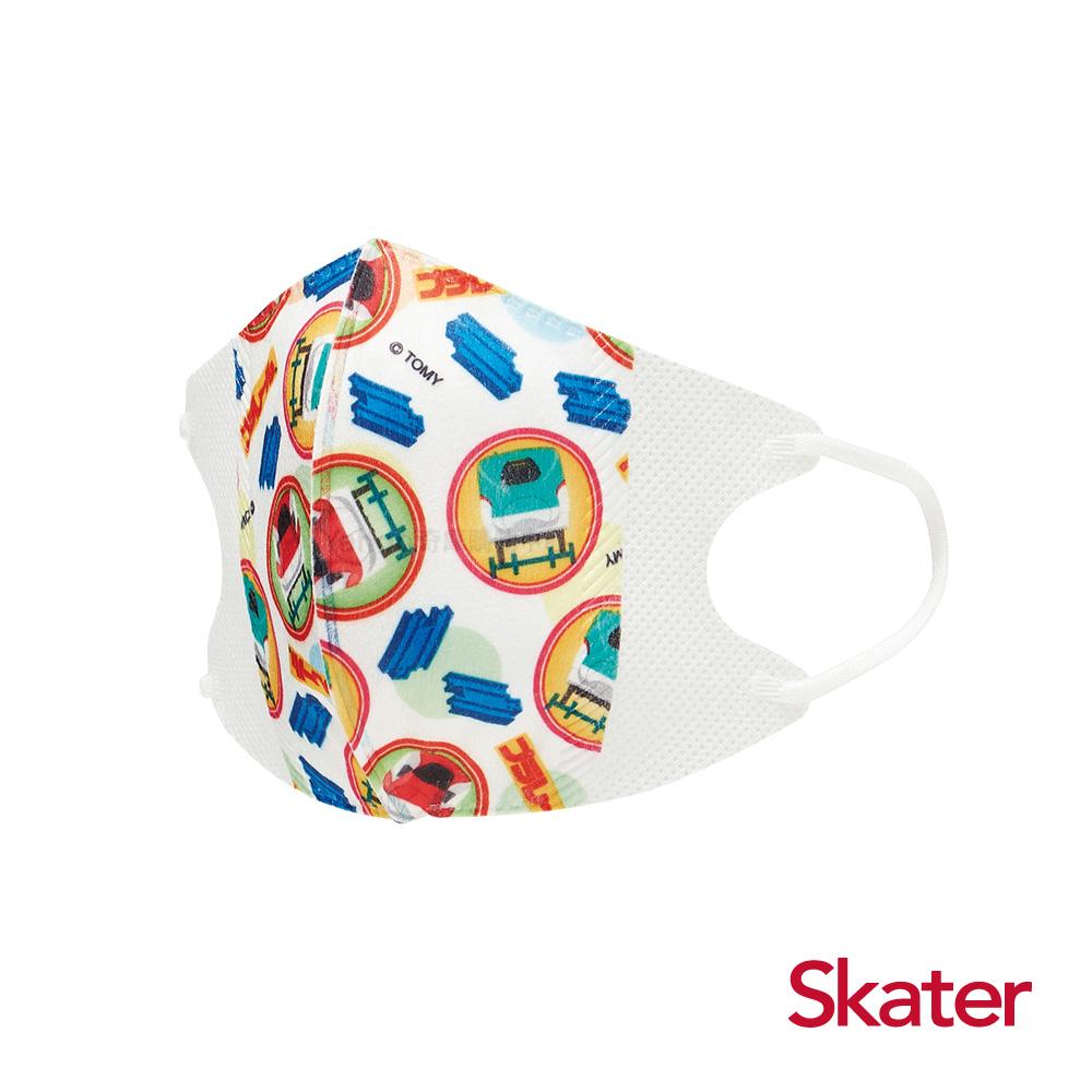 Skater兒童立體口罩-鐵道王國(10入/包)共6包