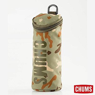 CHUMS 日本 Eco 圓筒收納袋筆袋 自然BB迷彩
