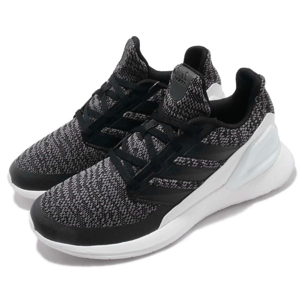 adidas 慢跑鞋 RapidaRun Knit 女鞋