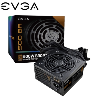 EVGA 艾維克 BA 500W 80plus 銅牌 五年保固 電源供應器