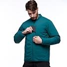 【HAKERS 哈克士】男款 防撥水保暖外套(深綠色)