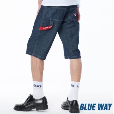 BLUE WAY – 經典丹寧短褲