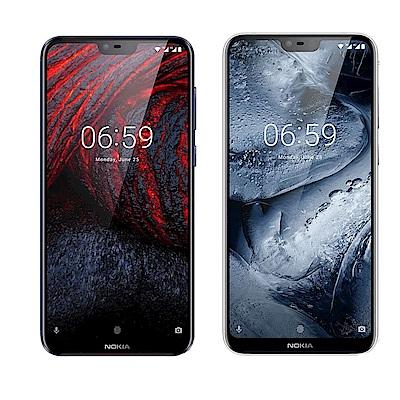 Nokia 6.1 Plus(4G/64G)5.8吋無邊際全螢幕智慧手機